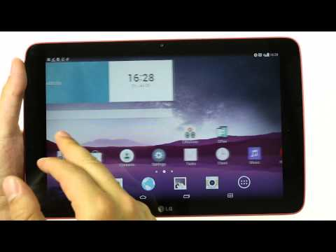 LG G Pad 10.1: hands-on