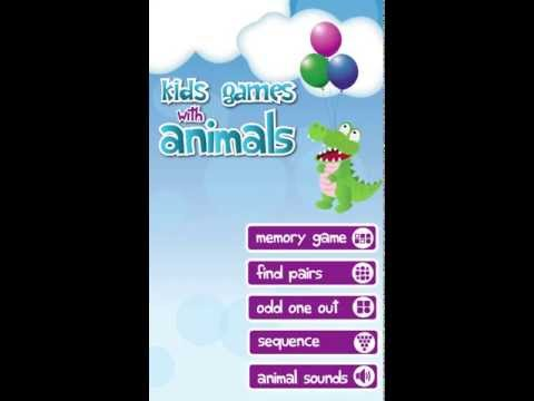 Video of Kids Games with Animals
