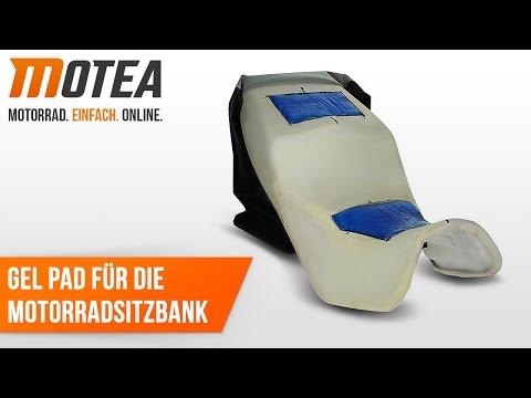 Montageanleitung: Gelkissen / Gel Pad für Motorradsitzbank