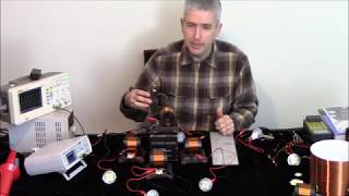 Over unity Resonance Demonstrations  with Small & Big Kit Coils