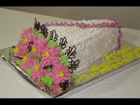 Показ фото оформления тортов