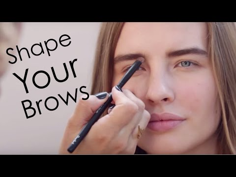 How To: Shape Your Eyebrows