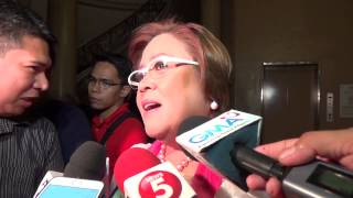 De Lima not interested in VP position