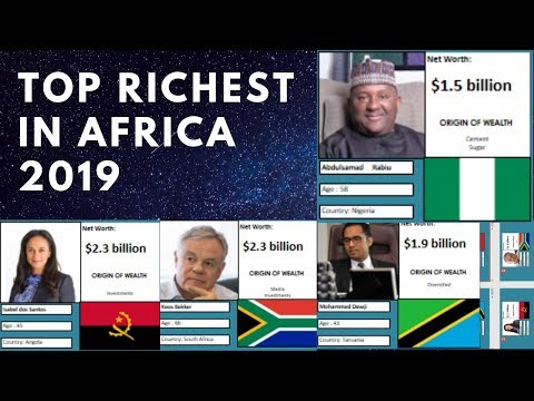 All 20 African BILLIONAIRES and their NET WORTH in 2019