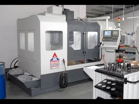 Centro de mecanizado vertical CNC EVERRICHO ER VMC 1263 A 2014