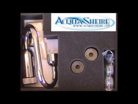 Rigeneratore, strumento di magnetizzazione e attivazione acqua, viene applicato su rubinetti e docce