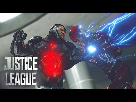 Justice League Ultimate - The Flash Vs Cyborg ! (2017 Justice League)