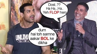Video John Abraham's BEST Reply To Akshay Kumar's INSULT On On Gold CLASH With Satyamev Jayate On 15th Aug MP3, 3GP, MP4, WEBM, AVI, FLV Januari 2019