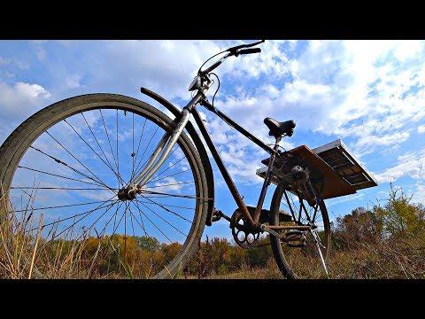 Мой первый велосипед на cолнечных батареях