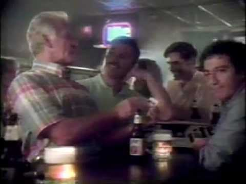 "1988 ""Bob Uecker"" Miller Lite Beer Commercial With Ron Cey"