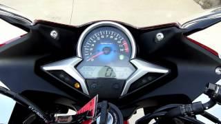 10. 2011 Honda CBR250r Instrument Panel