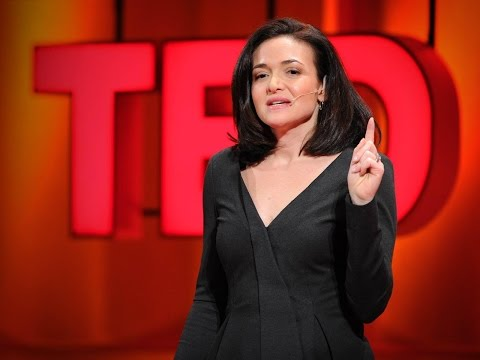tedtalk - http://www.ted.com Facebook COO Sheryl Sandberg looks at why a smaller percentage of women than men reach the top of their professions -- and offers 3 powerf...