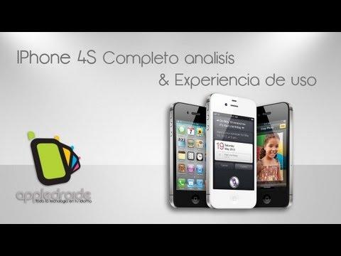 iphone 4S - Bienvenidos al completo análisis y experiencia de uso del smartphone estrella de apple, en este video veremos todo sobre su rendimiento, aplicaciones y exper...