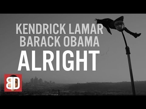 Obama's Farewell Speech: Barack Obama Singing Alright by Kendrick Lamar