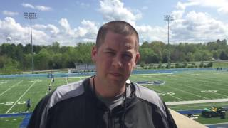 Spring Football update with Chris Oliver