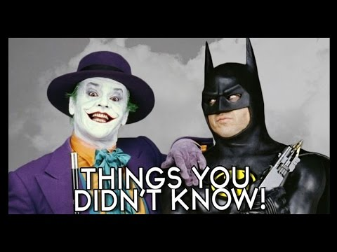 7 Things You (Probably) Didn't Know About Batman (1989)!