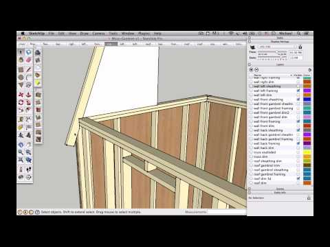 How to Draw Gambrel Trusses