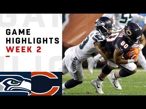 Seahawks vs. Bears Week 2 Highlights | NFL 2018 (видео)