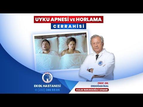 Uyku Apnesi ve Horlama Cerrahisi - Prof. Dr. Erdoğan İnal - İzmir Ekol Hastanesi