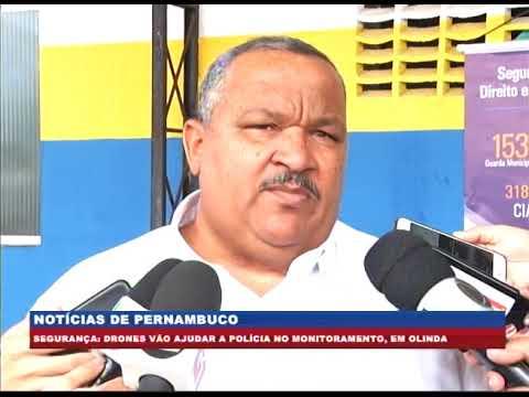 [BRASIL URGENTE PE] Drones vão ajudar a polícia no monitoramento, em Olinda