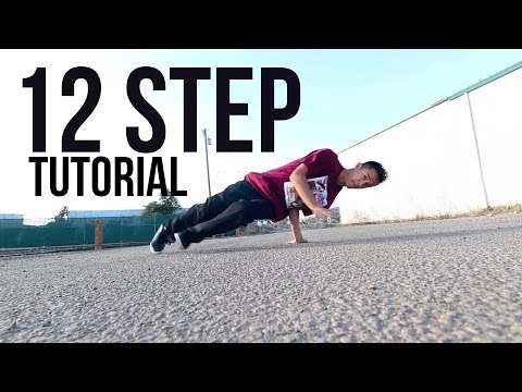 How to Breakdance | 12 Step / Baby Love / Twine | Footwork 101