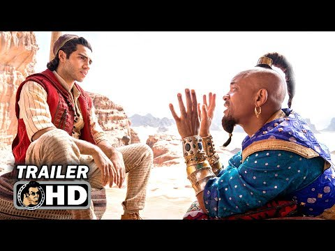 ALADDIN Teaser Trailer #2 - First GENIE Footage (2019) Will Smith Disney Movie HD