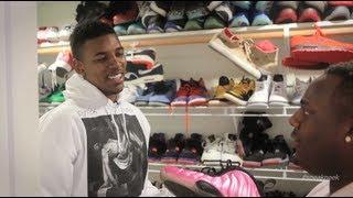 "A ""Sneak Peek"" Inside Nick Young's Sneaker Closet"