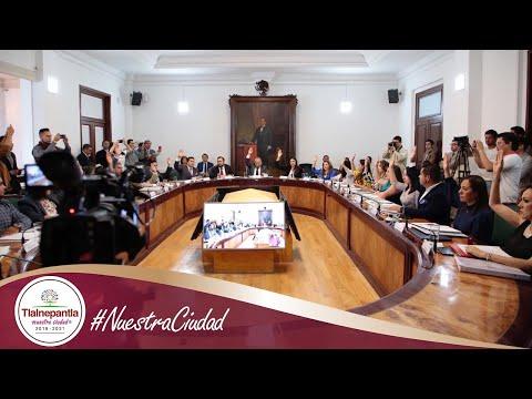 Cabildo H. Ayuntamiento de Tlalnepantla de Baz 20 febrero 2020