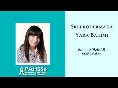Emine BOLAKAR ile Sklerodermada Yara Bakımı - 2020.10.22