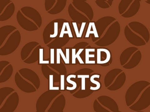 lists - Get the Code: http://goo.gl/T40EF In this video, I'll cover how work with a linked list in java. I'll show you how they work in 4 different ways. We'll cover...