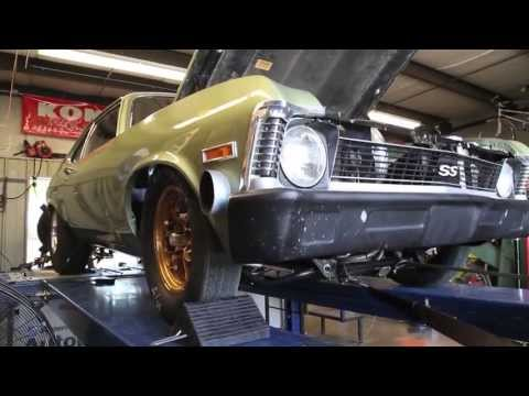 Classic Chevy Nova takes its turn on the dyno