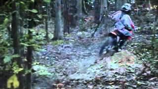 8. Riding October 2011 ktm 105 xc
