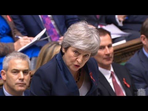 Großbritannien: Mays Brexit-Pläne erfahren massiven ...