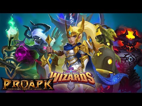 Amazing Wizards Android Gameplay