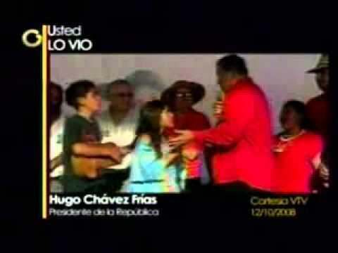 Una niña deja en ridículo a Hugo Chávez