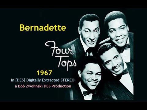 Four Tops - Bernadette - 1967 [DES STEREO]