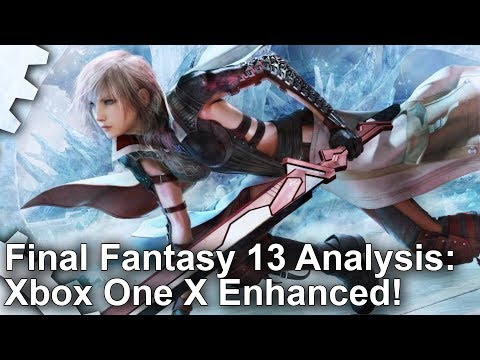 [4K] Final Fantasy 13: Xbox One X Enhanced - And The Best Version Yet