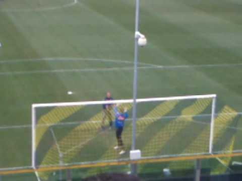 Hinchada en el Ennio Tardini, viendo el Parma Vs Napoli