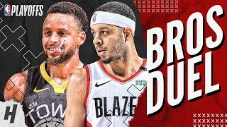 Video Stephen Curry vs Seth Curry BEST Brothers Moments & Highlights from 2019 NBA West Finals! MP3, 3GP, MP4, WEBM, AVI, FLV Juni 2019
