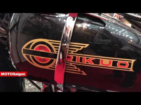 Rikuo xe máy cổ điển của Nhật từ năm 1958 tại Tokyo Motor Show - Thời lượng: 3 phút.