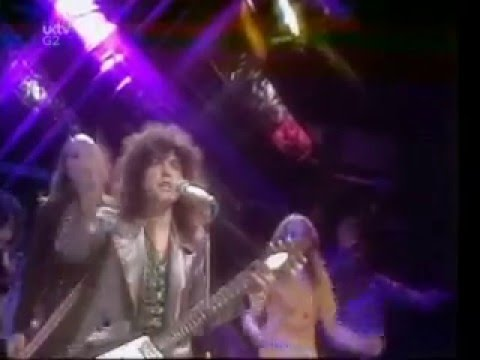 t.rex - T- Rex performing Get It On.