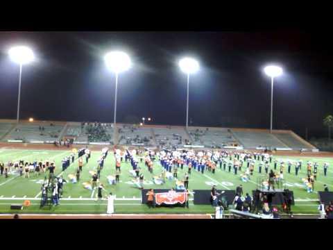 Veterans Memorial Highschool, 2013 Halloween Band Night