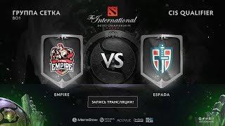 Empire vs Espada, The International CIS QL [Maelstorm, CrystalMay]