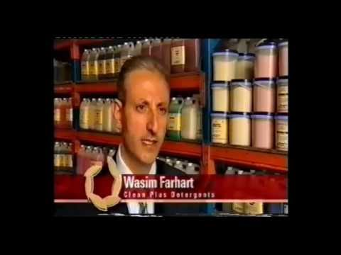 2003 Ethnic Business Awards Finalist – Small Business Category – Wasim Farhart – Clean Plus Detergents