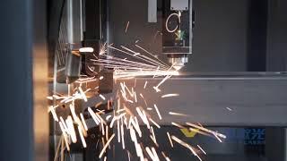 ZXL-FPC Metal Pipe Fiber Laser Cutting Machine youtube video