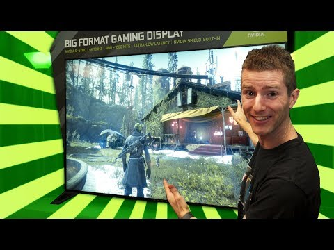 4K 120Hz Gaming TV from NVIDIA!? (видео)