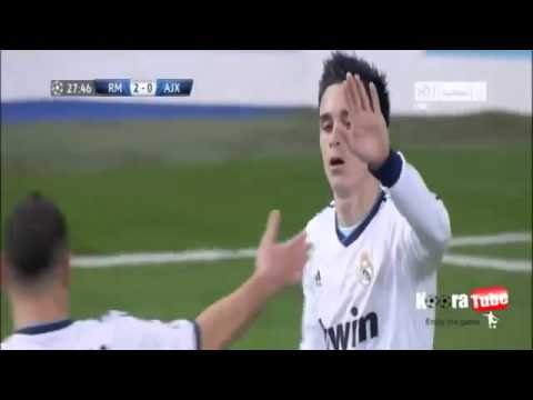Full Hd Real Madrid Vs Ajax 4-1 2012 All Goals & Highlists 4/12/2012