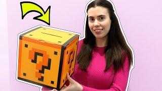 REAL LIFE LUCKY BLOCK MYSTERY BOX!!!