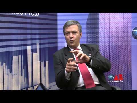 OAB na TV Online –  Wilson Rogério Picão, representante da 12ª Subseção da OAB-SP na Câmara de Vereadores de Ribeirão Preto