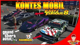 Video GTA V CarVlog Indonesia (3) - Gila Kontes Mobil Racing nya !! ada FAST AND FURIOUS 8 !! !! MP3, 3GP, MP4, WEBM, AVI, FLV Oktober 2017